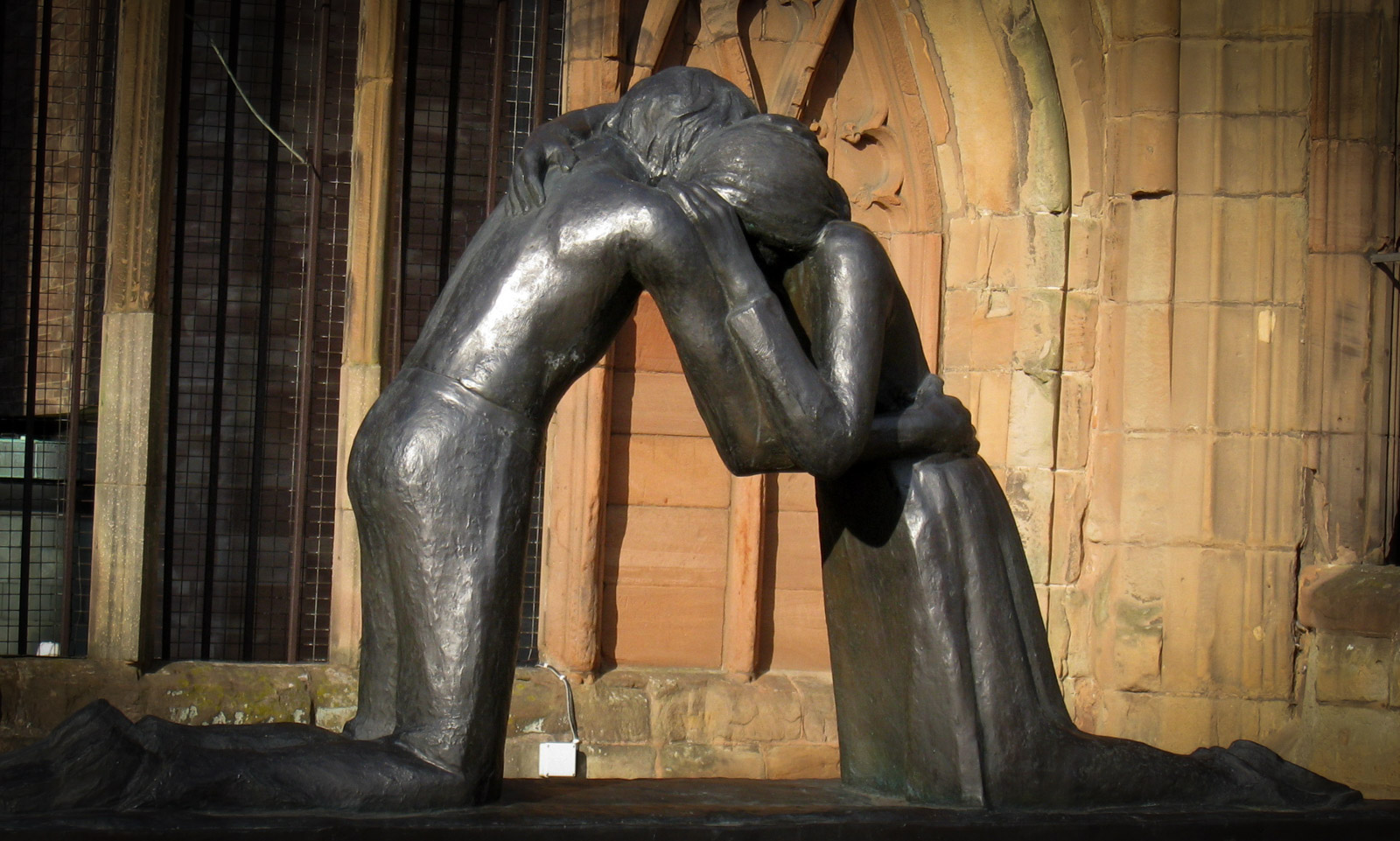 Reconciliation by Vasconcellos, Coventry Cathedral