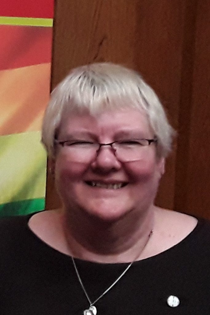 head and shoulders photo of Revd Barbara Petitt